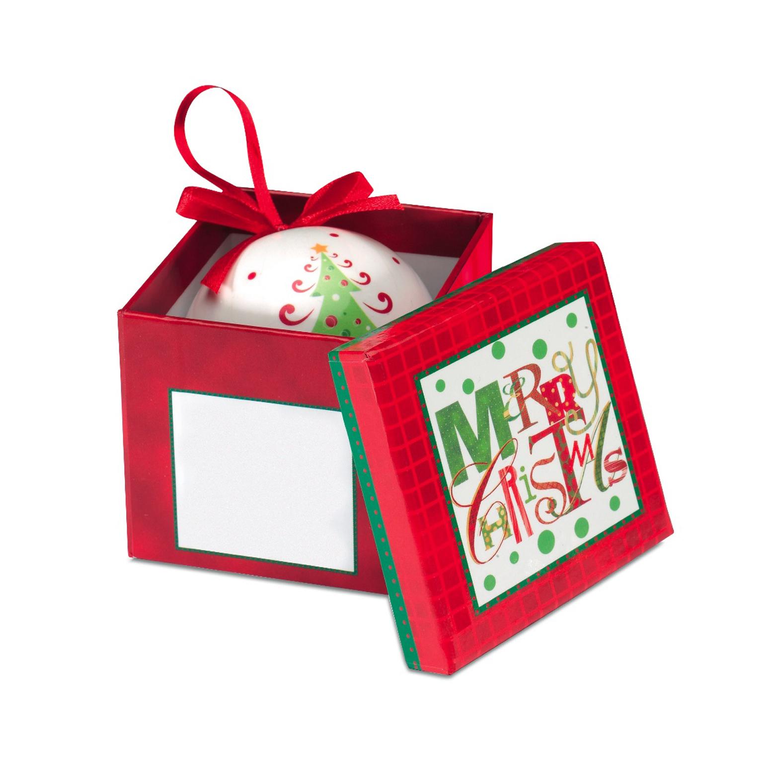 Новогодняя упаковка для подарков 82